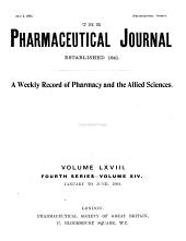 Pharmaceutical Journal: Volume 68