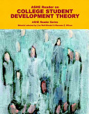 Ashe Reader On College Student Development Theory Book PDF