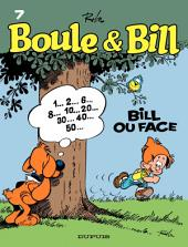 Boule et Bill - Tome 7 - Bill ou face