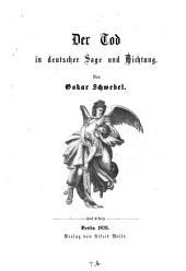 Der Tod in deutscher Sage und Dichtung