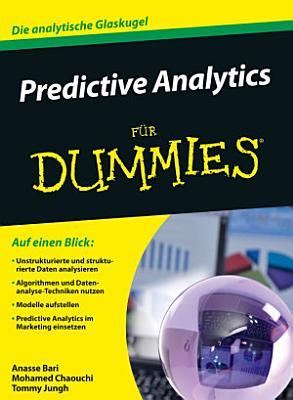 Predictive Analytics f  r Dummies PDF
