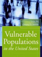 Vulnerable Populations in the United States PDF