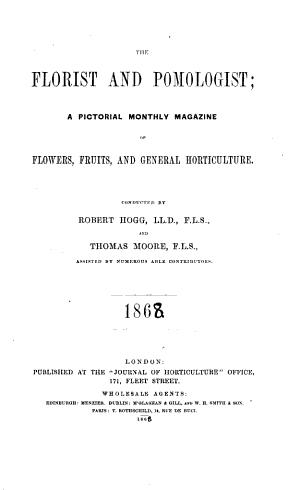 The Florist and Pomologist PDF