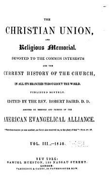 The Christian Union  and Religious Memorial PDF