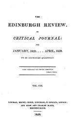 The Edinburgh Review, or Critical Journal: for January, 1859....April, 1859