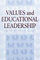 Values and Educational Leadership PDF
