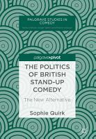 The Politics of British Stand up Comedy PDF