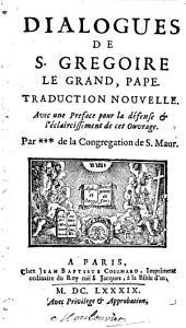 Dialogus de S. Gregoire le grand, Pape