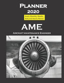 Planner 2020 AME Aircraft Maintenance Engineer