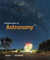 Foundations of Astronomy PDF