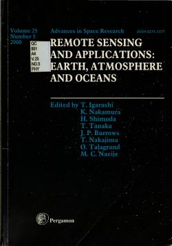 Remote Sensing and Applications PDF