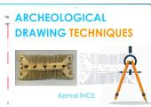 ARCHEOLOGİCAL DRAWING TECNIQUES: First Edition
