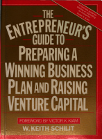 The Entrepreneur s Guide to Preparing a Winning Business Plan and Raising Venture Capital PDF