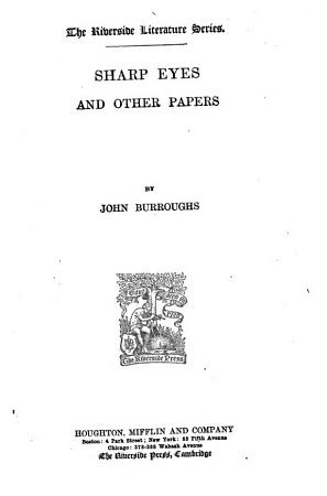 Sharp Eyes and Other Papers PDF