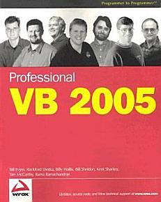 Professional VB 2005 PDF