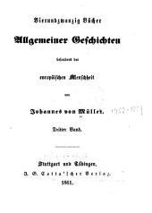 Vierundzwanzig Bücher allgemeiner Geschichten besonders der europäischen Menschheit: Bände 3-4