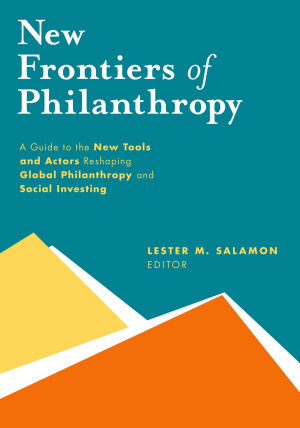 New Frontiers of Philanthropy PDF