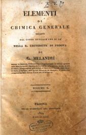 Elementi di chimica generale redatti dal corso annuale che si da' nella R. Universita' di Padova di G. Melandri ... Volume 1. \-2.!: Volume 1