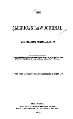 The American Law Journal PDF