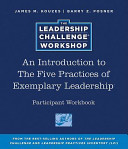 The Leadership Challenge Workshop Intro Participant Set Book PDF
