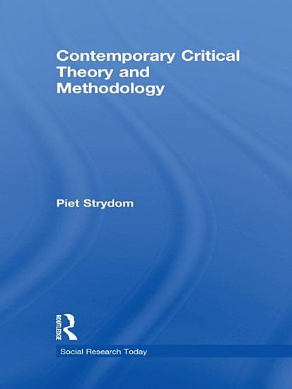 Contemporary Critical Theory and Methodology PDF