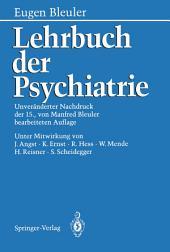 Lehrbuch der Psychiatrie: Ausgabe 15