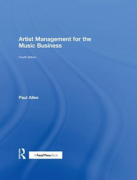 Artist Management for the Music Business PDF