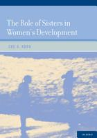 The Role of Sisters in Women s Development PDF