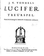 J. v. Vondels Lucifer: treurspel