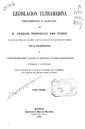 Legislación ultramarina: (488 p.)