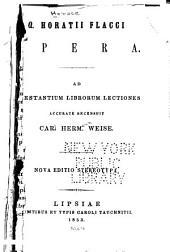 Opera--Latin ... Opera