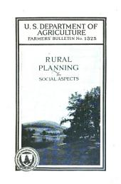 Rural Planning: The Social Aspects