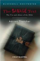 The Savage Text PDF