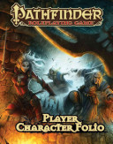 Pathfinder Roleplaying Game Player Character Folio Book