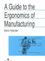 A Guide to Human Factors and Ergonomics  Second Edition PDF