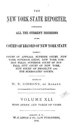The New York State Reporter PDF