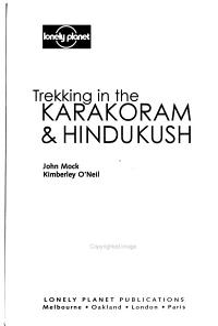 Trekking in the Karakoram   Hindukush PDF