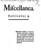 Miscellanea PDF