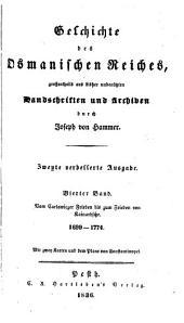 Geschichte des Osmanischen Reiches: Band 4
