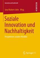 Soziale Innovation und Nachhaltigkeit PDF