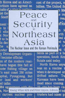 Peace and Security in Northeast Asia PDF