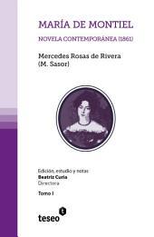 María de Montiel: novela contemporánea (1861)