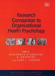 Research Companion to Organizational Health Psychology
