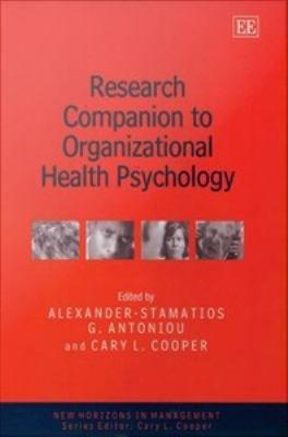 Research Companion to Organizational Health Psychology PDF