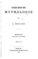 Griechische Mythologie  bd  Theogonie und Goetter PDF