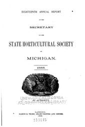 Report of the Michigan State Pomological Society: Volume 18