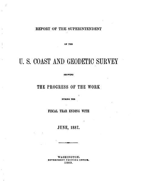 Download Annual Report of the Director  United States Coast and Geodetic Survey  to the Secretary of Commerce Book