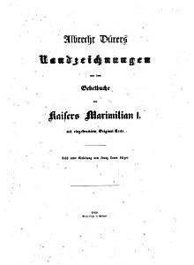 Albrecht D  rers Randzeichnungen aus dem Gebetbuche des Kaisers Maximilian I PDF