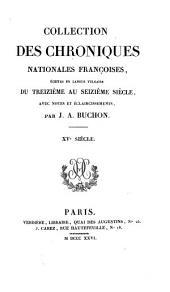 Chroniques d'Enguerrand de Monstrelet: Volume26,Partie1