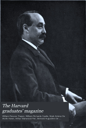 The Harvard Graduates' Magazine: Volume 14